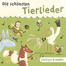 Die schönsten Tierlieder Hörbuch von  div. Gesprochen von:  div.