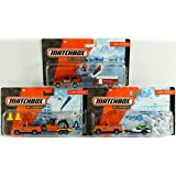 Matchbox Hitch N Haul Set Of 3 - Construction Kings, Snow Attack & Vacation Day