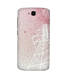 Pink Sky Huawei Honor Holly Case