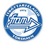 IF Fram - Faroe Islands Football Soccer Futbol - Car Sticker - 4""