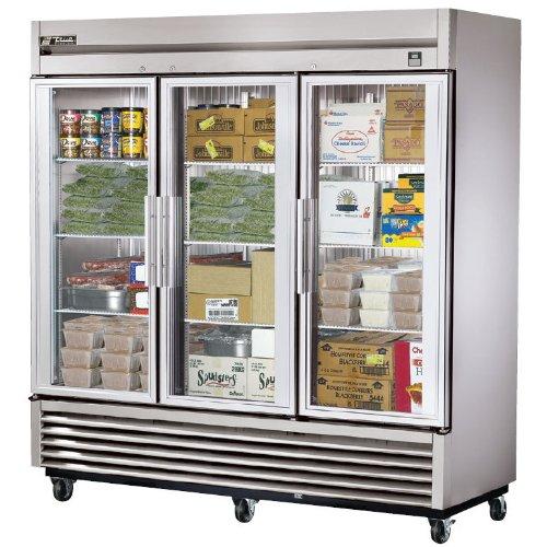 True Commercial Freezer front-352247