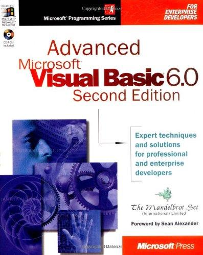 Advanced Microsoft Visual Basic (Mps)