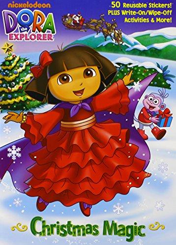 Christmas Magic (Dora the Explorer) (Color Plus Gatefold Sticker)