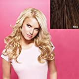 Jessica Simpson Hair Do - 23 inch Wavy Clip-In Hair Extensions R33 Dark Auburn