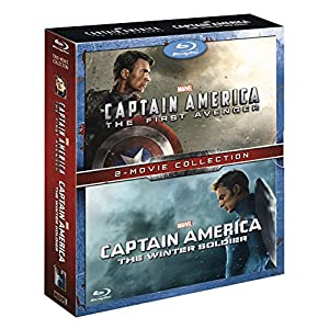 Captain America 1&2 [Blu-ray] [Import anglais]