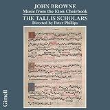John Browne : Music from the Eton Choirbook