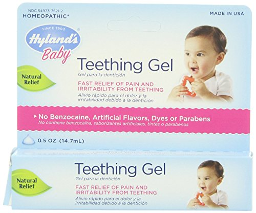 Hylands Homeopathic Baby Teething Gel - 0.5 Oz, Pack of 2 Image