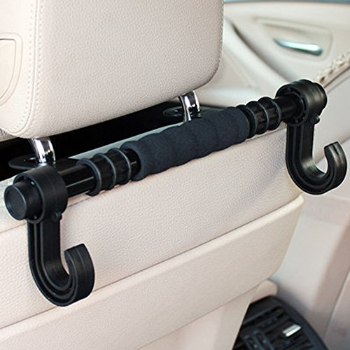 hamist newest multi function car back seat hook hanger black vehicles parts vehicle parts. Black Bedroom Furniture Sets. Home Design Ideas