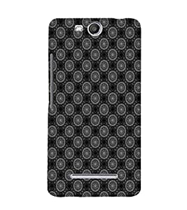 EPICCASE ethnic circles Mobile Back Case Cover For Micromax Canvas Juice 3 Q392 (Designer Case)