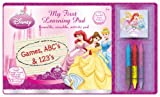 Princess My First Dry-Erase  Learning Pad Set, Full Color (12329A)