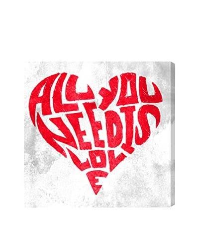 Oliver Gal Artist Co. All You Need Is Love, Multi, 20 x 20