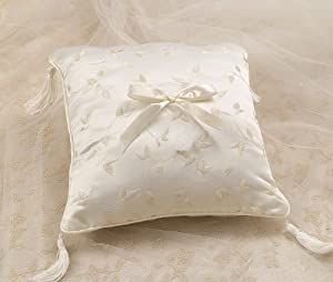 Amazon Wedding Ring Bearer Pillows Floral Embroidery Ring Bearer Pillow Ivory Kitchen