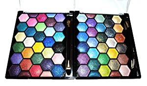 Amazon.com: Pearl Sparkle 64 Elegant Eyeshadow Colors Makeup Kit Palette: Beauty