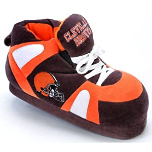 Cleveland Browns NFL Comfy Feet Slippers by Comfy Feet