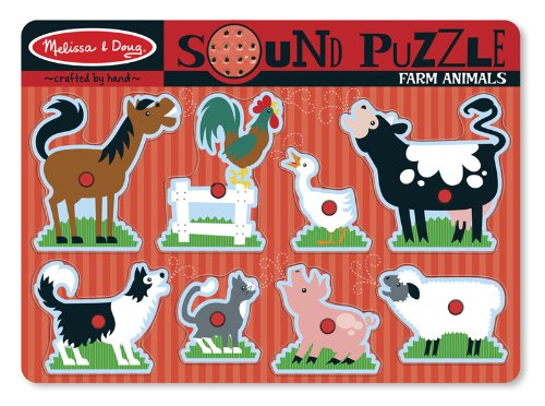 Cheap WMU Farm Animals Sound Puzzle Case Pack 1 (B005EB2TUY)