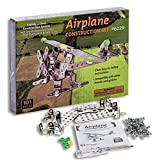 Stainless Steel Airplane Construction Set (101 Pieces)plane - Building Kit Model