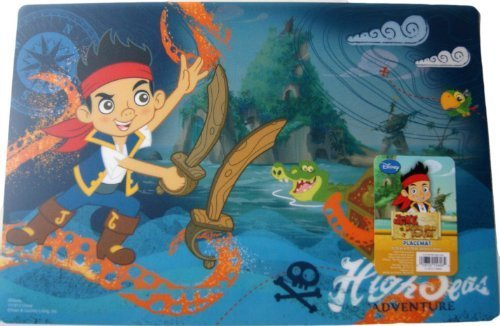"Jake and The Neverland ""High Seas Adventure"" Placemat 17.75"" x 11.75"""