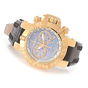 Invicta Womens Subaqua Noma III Swiss Made Chronograph Diamond Accented 18k GP Watch 80531