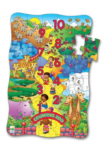 Cheap Fun The Learning Journey Puzzle Doubles Puzzle & Poster Series Counting Zoo Floor Puzzle (B001EY5GMI)