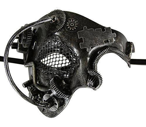 KAYSO-INC-Steampunk-Phantom-Of-The-Opera-Mechanical-Venetian-Masquerade-Mask