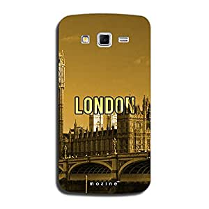 Mozine London Printed Mobile Back Cover For Samsung Galaxy Grand 2