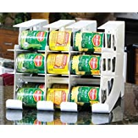 Fifo Can Tracker Food Storage Canned Foods Organizer