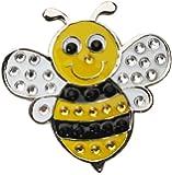 Crystal Golf Ball Marker & Hat/ Visor Clip - Queen Bee