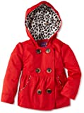 Pink Platinum Toddler Girls Spring Emma Leopard Outerwear Rain Jacket