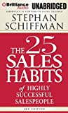 The 25 Sales Habits of Highly Effective Salespeople