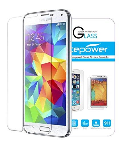 Galaxy S5 Protection écran, ACEPower® Film Protection en Verre trempé écran protecteur ultra résistant Glass Screen Protector pour Galaxy S5 (1-Pack)