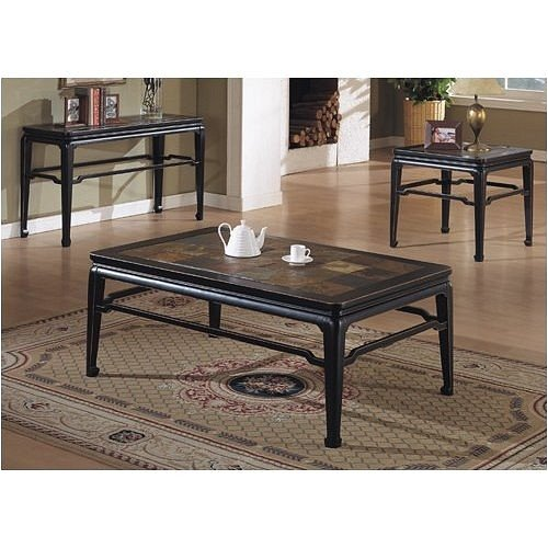 Cheap BEAUTIFUL NEW BLACK CONSOLE SOFA TABLE (VF_F6157)