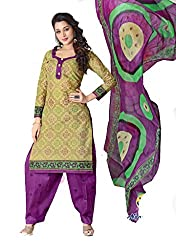 Balaji Fashion Women's fancy print cottan suit-D.NO 1012