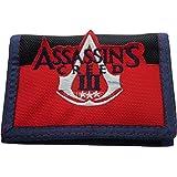 Assassins Creed Logo Black Velcro Wallet