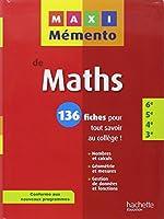 MAXI MEMENTO - Maths 6e-5e-4e-3e