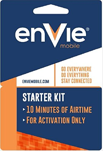 H2O Envie Mobile Cdma Activation Kit Use with Verizon Phones Free 10 Minutes Included (Verizon Prepaid Starter Kit compare prices)
