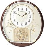 Seiko QXM470BRH Melody in Motion Clock