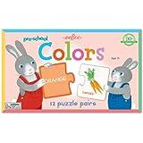 Eeboo Pre-School Color Puzzle Pairs 12 pcs
