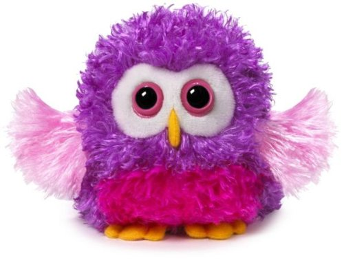 "Ganz 4.5"" Whoorah Hoots Plush Toy, Purple"