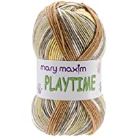 Mary Maxim Y081-100 Playtime Yarn, Sandbox