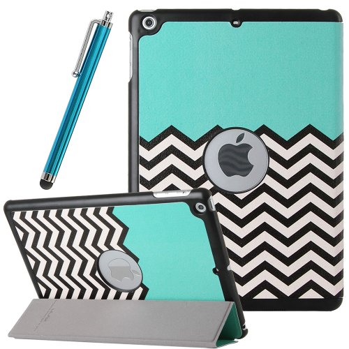 Best Review Of Pandamimi ULAK(TM) PU Leather Stand Case With Smart Cover Function for Apple iPad Air...