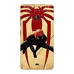 Hanging Web Back Case Cover for Lumia 540