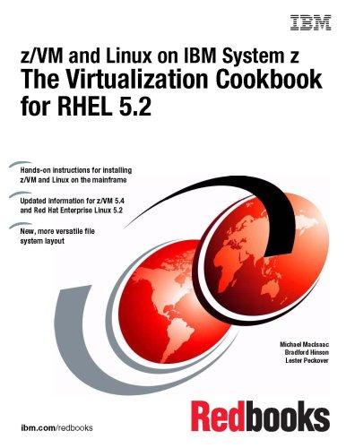 Z/Vm and Linux on IBM System Z the Virtualization Cookbook for Rhel 5.2
