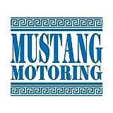 マスタング モータリング ステッカー ブルー 青