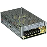 MEAN WELL S-150-12 AC to DC Power Supply, Single Output, 12V, 12.5 Amp, 150W, 1.5