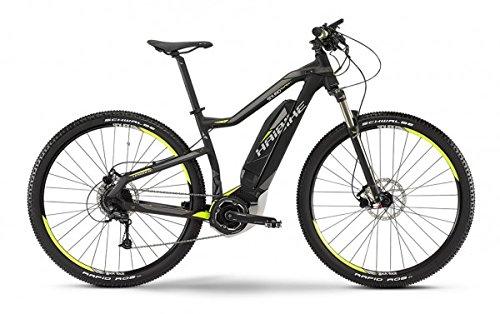 E-Bike Haibike SDURO HardNine SL in schwarz/lime/grau matt Modell 2015