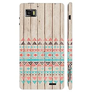 Lenovo K 860 Woody A…ztec designer mobile hard shell case by Enthopia