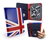 Tuff-Luv Embrace case cover for Amazon Kindle Touch / Paperwhite - Union Jack motif