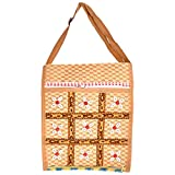 Rajkruti Handicraft bags (shoulder bag) women and girls (Brown)