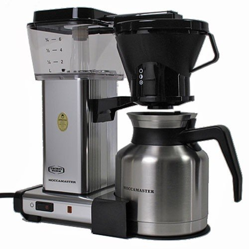 Moccamaster Coffee Maker Cleaning : Moccamaster 79212 KBTS 8-Cup Coffee Brewer with Thermal Carafe, Polished Silver Kitchen Dining ...