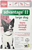 Bayer Advantage II, Large Dogs, 21 to 55-Pound, 6-Month